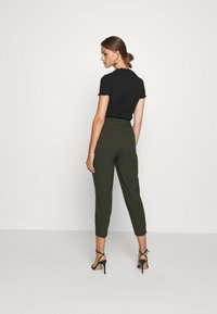 ONLY - ONLNICOLE PAPERBAG  - Trousers - forest night - 2