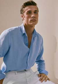 Massimo Dutti - SLIM-FIT - Shirt - blue - 3