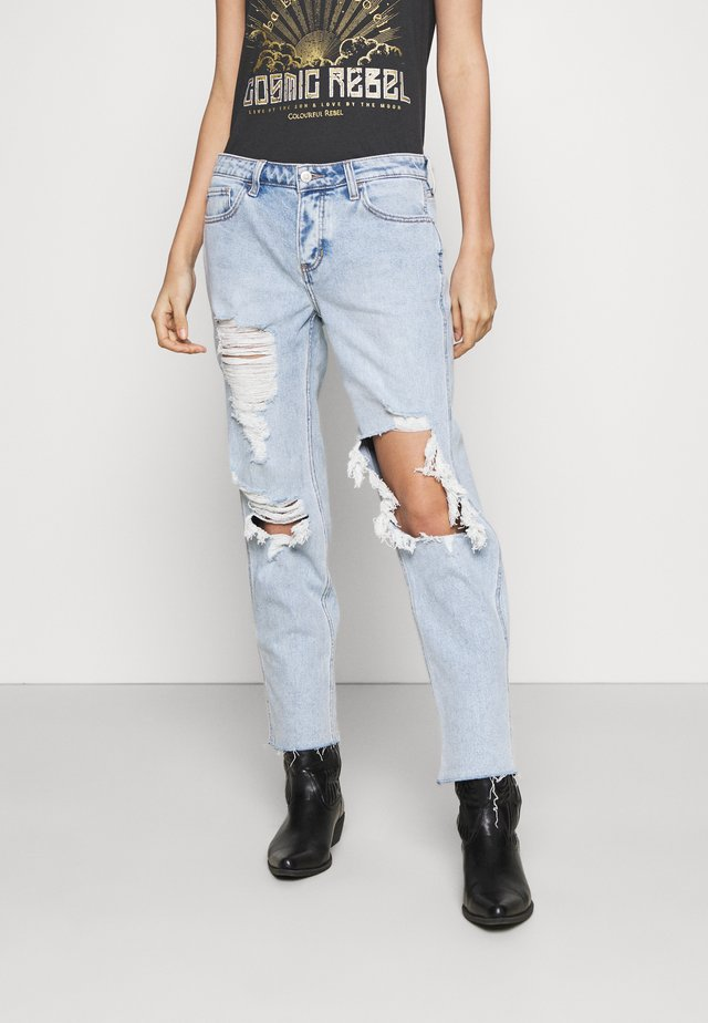 SHRED - Relaxed fit jeans - light indigo