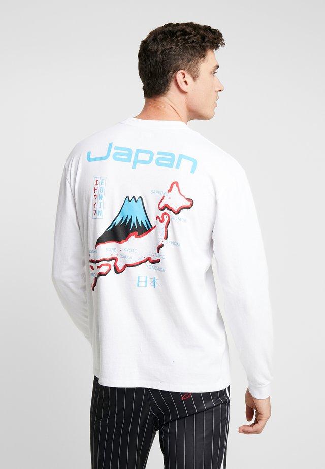 SOUVENIR FROM JAPAN  - Bluzka z długim rękawem - white