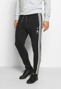 adidas Performance - DEUTSCHLAND DFB ICONS PANT - National team wear - black - 0