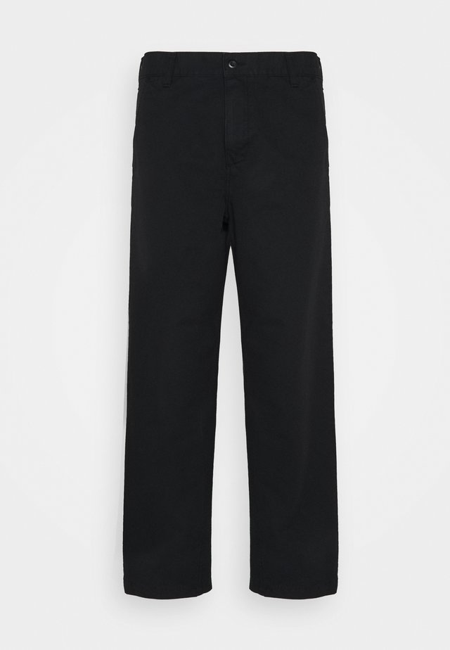 WESLEY PANT NEWCOMB - Relaxed fit jeans - black