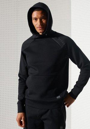 TRAINING GYMTECH - Jersey con capucha - black