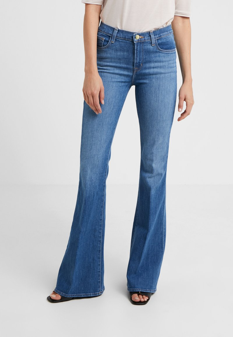J Brand - VALENTINA HIGH RISE  - Flared Jeans - endeavor