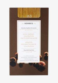 Korres - ARGAN OIL ADVANCED COLORANT - Hair colour - 8.3 golden/ honey light blonde - 0
