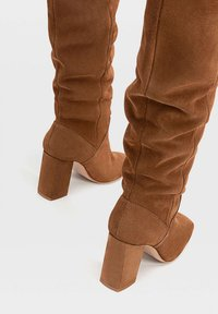 Stradivarius - High heeled boots - brown - 3