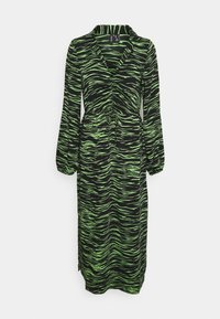 Vero Moda - VMMELLA COLLAR DRESS - Maxi dress - black - 5