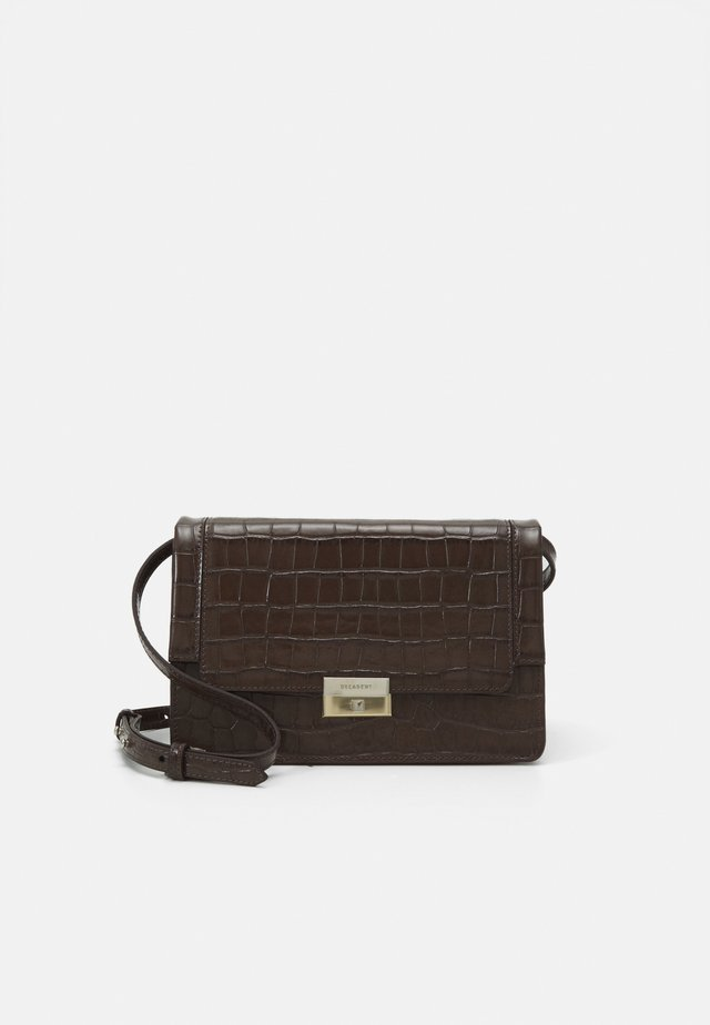 MARY CROSS BODY BAG - Axelremsväska - mocha