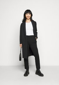 ONLY Petite - ONLLENIA MARA CIGARET  - Trousers - black - 1
