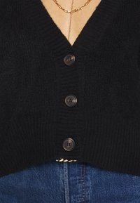 Who What Wear - THE BOXY - Cardigan - black - 6