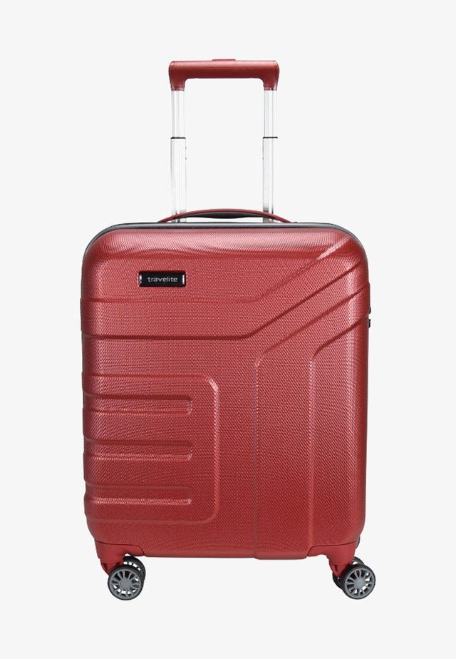 VECTOR  - Wheeled suitcase - red