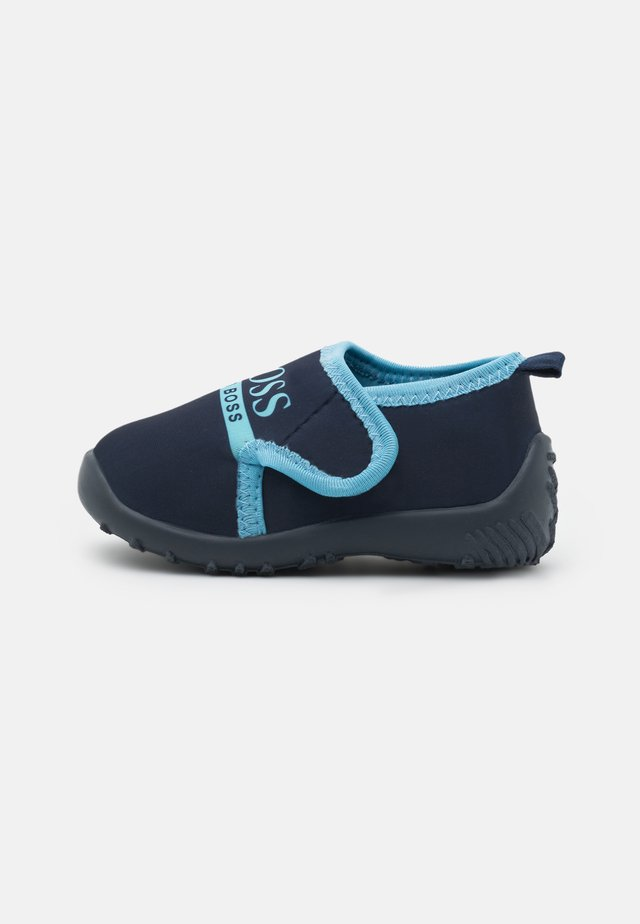 TRAINERS - Touch-strap shoes - navy