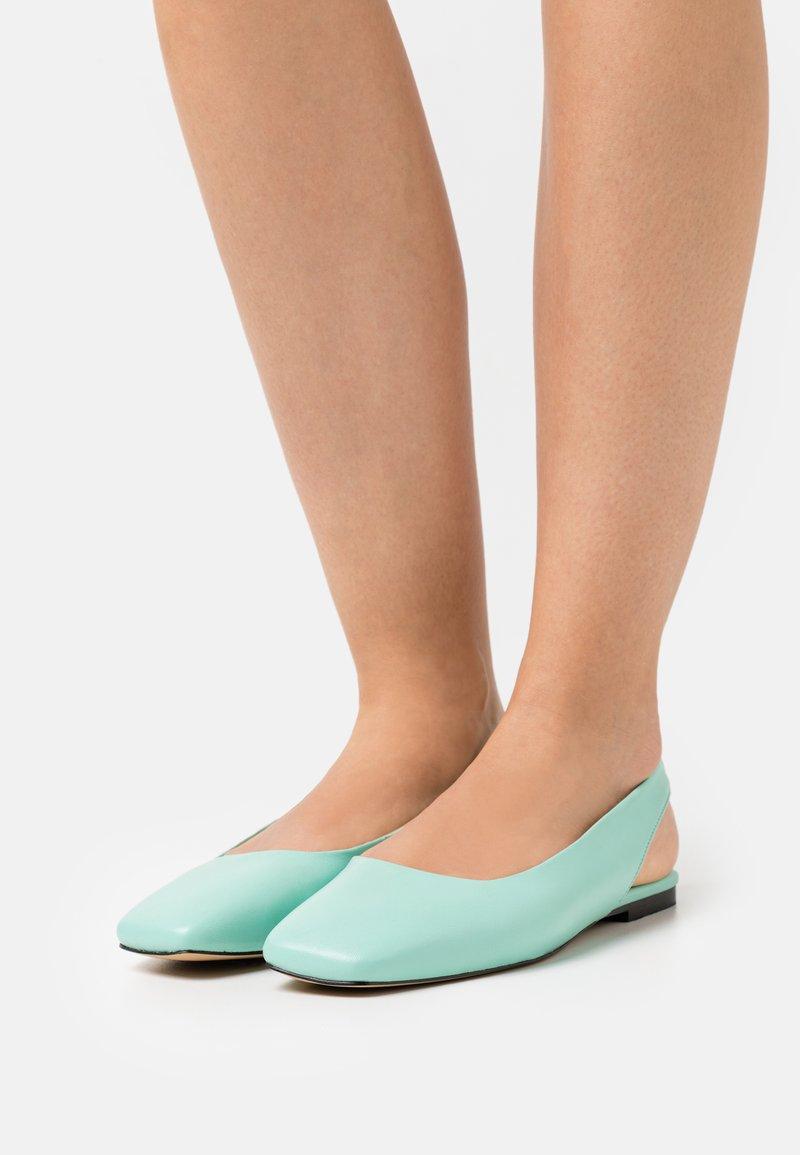 ASRA - FRENCHIE - Slingback ballet pumps - jungle mint