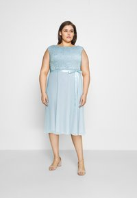 Swing Curve - Cocktail dress / Party dress - blue dust - 1
