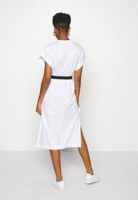Diesel - D-FLIX-C DRESS - Jersey dress - white - 2