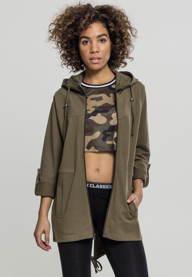 Urban Classics - LADIES TERRY  - Zip-up hoodie - olive