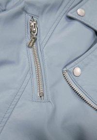 Garcia - Faux leather jacket - powder blue - 4