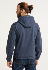 Schmuddelwedda - Zip-up sweatshirt - marine melange - 2