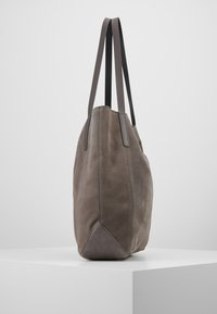 Anna Field - LEATHER - Tote bag - anthracite - 4