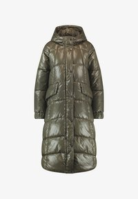 Taifun - GLÄNZENDEM FINISH - Winter coat - moss green - 2