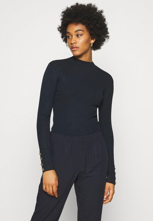JDYPLUM CUFF BUTTON - Jumper - sky captain