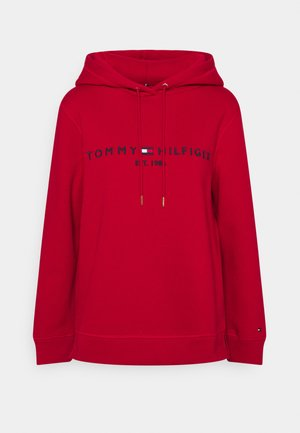REGULAR HOODIE - Sweatshirt - red