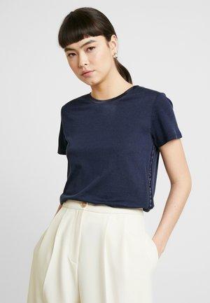 ELEVATED TEE - T-shirt basic - navy