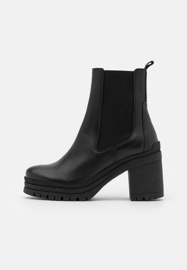MOLLY - High heeled ankle boots - black