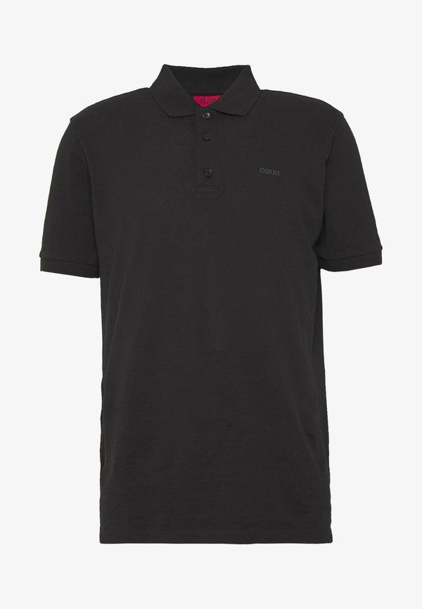 HUGO DONOS - Koszulka polo - black/czarny Odzież Męska CHRZ