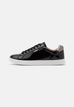 ONLSHILO METALLIC - Sneakers laag - black