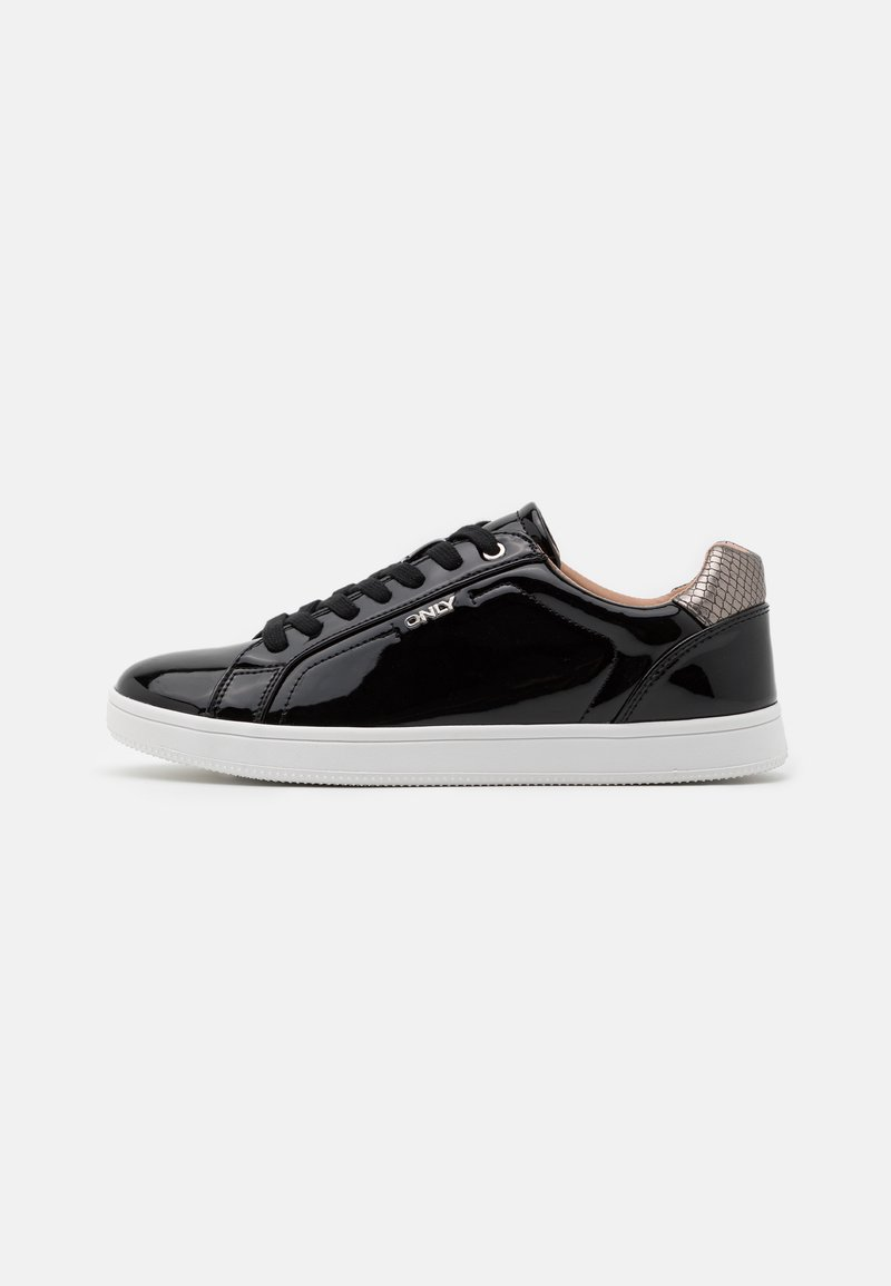 ONLY SHOES - ONLSHILO METALLIC - Sneakers laag - black