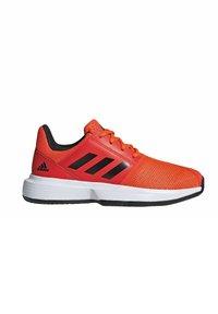 adidas Performance - COURTJAM - Clay court tennis shoes - orange - 7