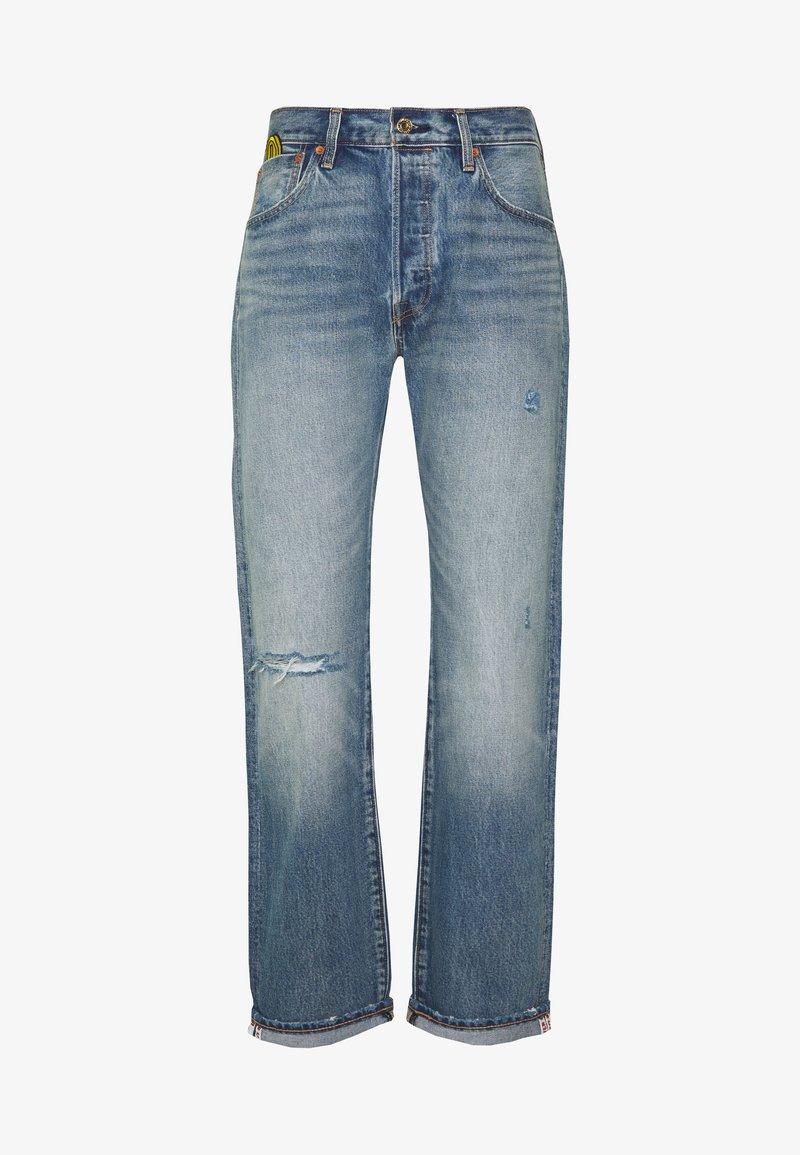 Levi's® - LEVI'S® X SUPER MARIO 501® '93 STRAIGHT - Jeans Straight Leg - mario 501 day selvedge
