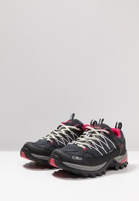 CMP - RIGEL LOW TREKKING SHOE WP - Hiking shoes - antracite/offwhite - 2