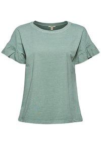 Esprit - WASH TEE - Print T-shirt - turquoise - 2