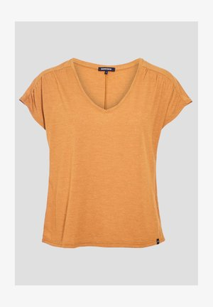 Print T-shirt - jaune