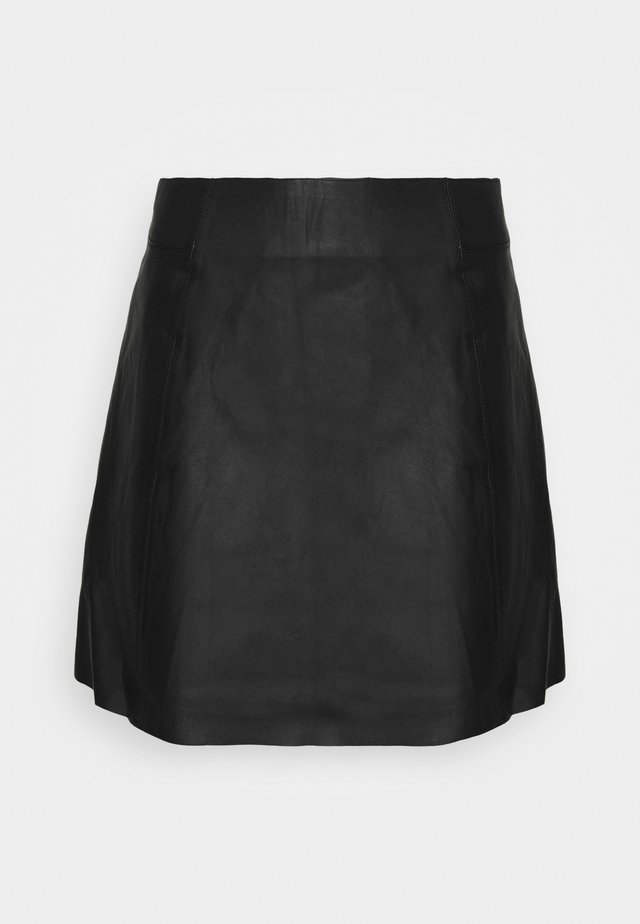 SLFIBI SKIRT  - Mini skirt - black