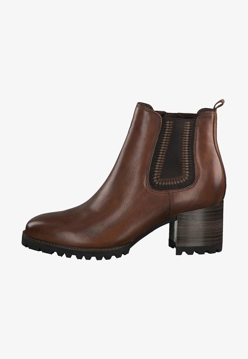 Tamaris Pure Relax - Ankle boots - cognac       #
