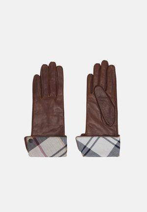 LADY JANE GLOVES - Gloves - brown/hessian
