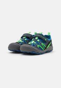 TOM TAILOR - Walking sandals - navy/royal/lime - 1