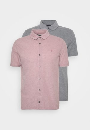 2 PACK  - Camicia - pink/grey