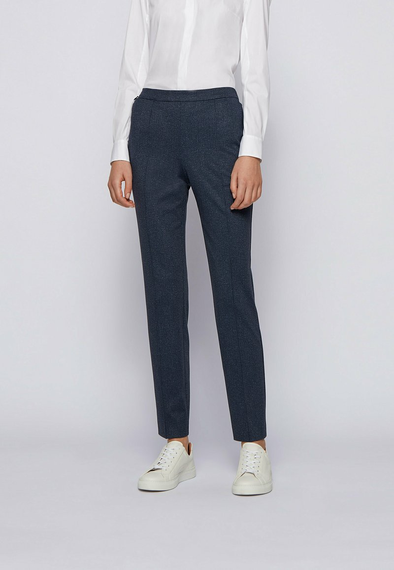 BOSS - TAHWENA - Trousers - patterned