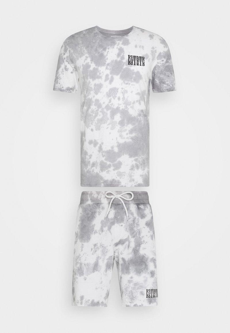 YOURTURN - SET - Teplákové kalhoty - white