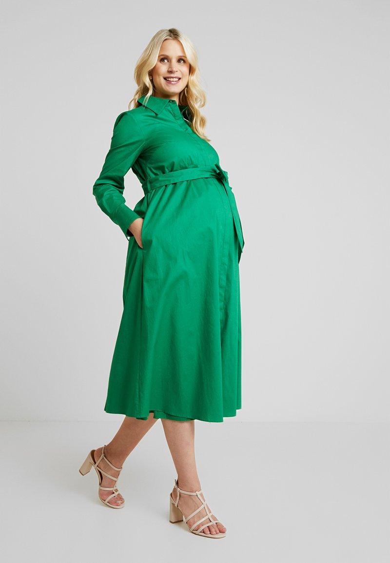IVY & OAK Maternity - Abito a camicia - secret garden green