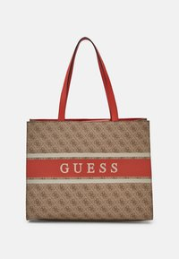 Guess - MONIQUE TOTE - Tote bag - orange - 0