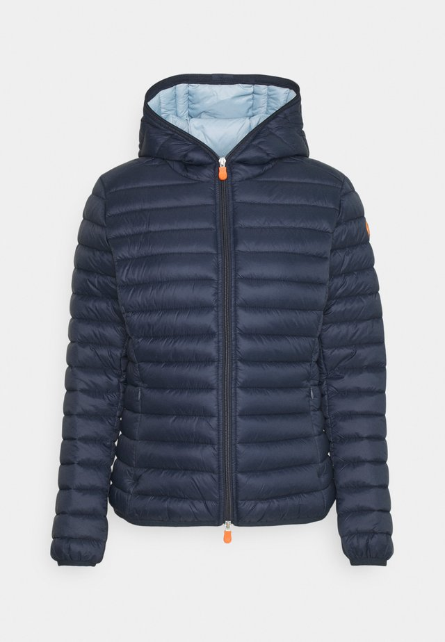 DAISY HOODED JACKET - Winterjas - navy blue