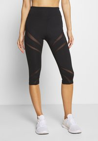 Even&Odd active - 3/4 Sporthose - black - 0