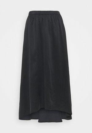RAHEL - A-line skirt - schwarz