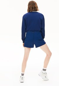 Lacoste - Shorts - bleu marine / blanc - 1