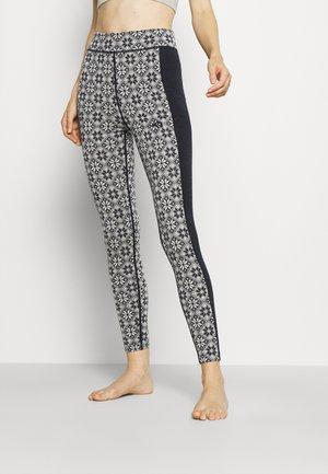 ROSE HIGH WAIST PANT - Pitkät alushousut - black